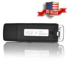 Flash Drive Style Hidden Spy Bug Room Personal Voice Audio Recorder 8GB
