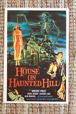 House On Haunted Hill Lobby Card Movie Poster Vincent Price
