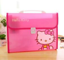Hello Kitty A4 Office Student School Expanding File Bag Case Organizer Folder