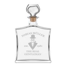 Noble bouteille de whisky incl. GRAVURE A Gentleman