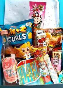 Anime Themed Asian Snack, Ramen, Drink Box 25pcs | JAPANESE KOREAN CHINESE THAI
