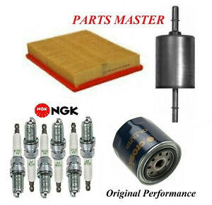 Tune Up Kit Filters Spark Plugs Fit DODGE INTREPID V6; 2.7L 1998-2004