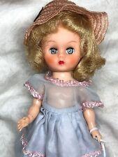"""8"""" Vintage Antique Cosmopolitan Ginger Straight Leg Walker Adorable Blonde #A"""