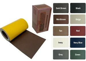 MastaPlasta Self-Adhesive Leather Repair On A Roll 150x10cm (60x4ins). Fix Rips