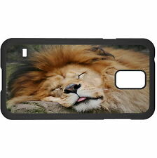 Napping Lion Hard Case Cover For Samsung New