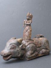 Vieille Sculpture en bois sculpté, mythologie de BALI INDONESIE