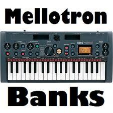 240 Mellotron Sample Banks for Korg MicroSampler MS-1