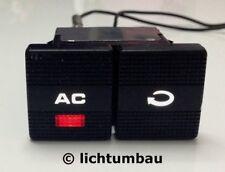 VW Golf 3 Klima Schalter Klimaschalter BLAU ROT WEISS 1H0959543