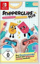 Snipperclips Plus (Nintendo Switch, 2017)