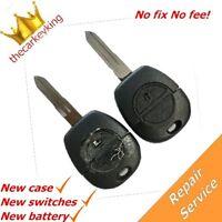 REPAIR SERVICE Nissan NATS Almera Primera X-Trail key fob remote +new shell case