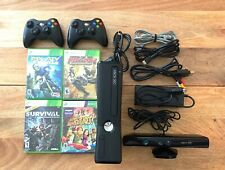 xbox 360 S with Games And Kinect
