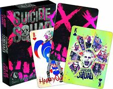Suicide Squad Playing Card Deck Harley Quinn Joker Batman Poker Cards New Sealed