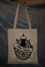Tote Bag motif Couture - Neuf -