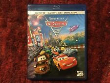 Disney : Cars 2 : Like New 5 - Disc Blu-ray 3D + Blu-ray + DvD : NO DIGITAL