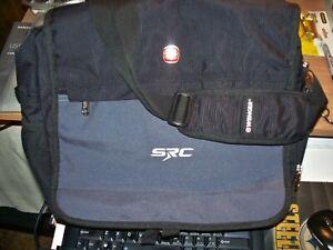 Swiss Gear Wenger Black Briefcase Messenger Shoulder Bag Nylon Work School