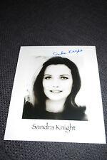 """SANDRA KNIGHT signed Autogramm auf 20x25cm Foto """"FRANKENSTEINS TOCHTER"""" InPerson"""