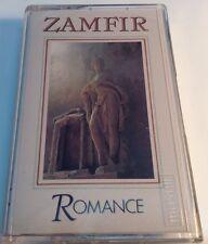 ZAMFIR Original Tape Cassette ROMANCE 1982 Phonogram Records Canada MCR4-1-4070