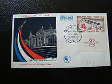 FRANCE - enveloppe 1er jour 5/6/1964 (philatec) (cy16) french