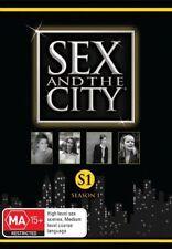 Sex And The City : Season 1 (DVD, 2008, 2-Disc Set) Region 4  vgc
