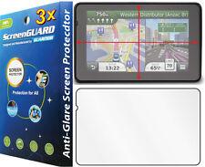 3x Anti-Glare LCD Screen Protector Cover Garmin Nuvi 3590 LM LT LMT 3590LMT GPS