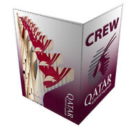 Qatar Airways CREW Passport Cover