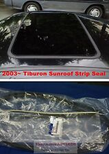 For 2003-2008 Hyundai Tiburon Coupe SUNROOF WEATHER STRIP SEAL RUBBER 1SET