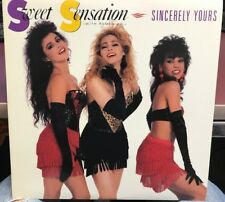 "SWEET SENSATION SINCERELY YOURS 12"" LP 1988 ATCO 0-96586"