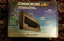 Commodore 64 Personal Computer with Original Box and Manual