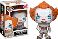 Pennywise With Boat FUNKO Pop Vinyl New in Box