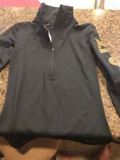 NIKE PRO WOMEN'S DRI-FIT WARM 1/2 ZIP TRAINING SHIRT Black (SZ XS)916967-NWT $75
