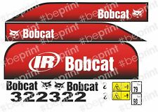 KIT ADESIVI Bobcat 322 Mini Escavatore Yanmar Serie