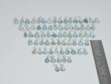 Wholesale 71Pc 925 Sterling Silver Natural Blue Larimar Pendant Lot Gtc162 fw255