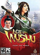 Age of Wushu: Fight The World, PC DVD *NEW*