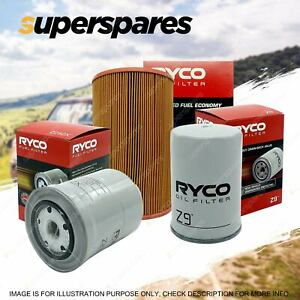Ryco Oil Air Fuel Filter Service Kit for Ford Courier PG PH PE Radial 2002-2006