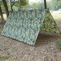 Outdoor Shelter Ultralight Tarp Camping Survival Sun Shelter Multifunctional