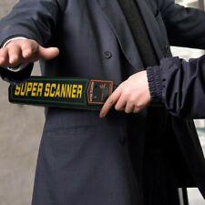 Portable High Sensitivity Security Scanner Handheld Metal Detector Wand Checker