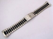 NSA Vintage Bracelet 22mm STEEL INOX, with folding clasp FORTIS, NOS swiss made
