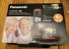 Panasonic KX-TGM430 Amplified Cordless Telephone Bluetooth Digital Answering