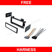 Car Stereo CD Player Radio Dash Mount Mounting Kit+Wire Harness Plug for MOPAR