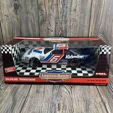 American Muscle Nascar  Collector Edition #6 Valvoline  Thunderbird 1:18 Scale
