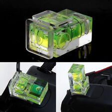 Two Axis Double Bubble Spirit Level Flash Hot Shoe Mount For DSLR Camera New
