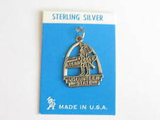 vintage sterling charm-arch style TENNESSEE VOLUNTEER STATE