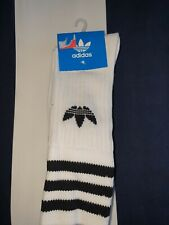ADIDAS ORIGINALS 3 PACK WHITE SOCKS SIZE 2.5-5 BRAND NEW BOUGHT FROM HARRODS