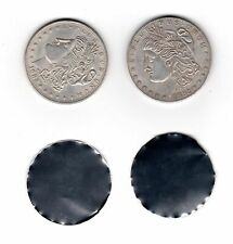 Morgan Coin Lot - Split Magnetic & Expanded Steel Shimmed Shell - Magic Props