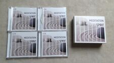 "CD AUDIO MUSIQUE / MEDITATION OF SPIRIT"" COFFRET 4 X CD 2012"