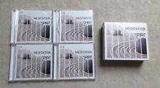 "CD AUDIO MUSIQUE / MEDITATION OF SPIRIT"" COFFRET 4 X CD 2012"