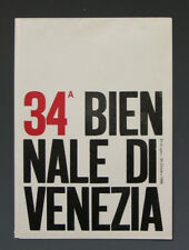 Dépliant Venezia Biennale de 1968