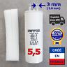 Condensateur de 5.5 uF (µF) pour moteur SOMFY ou SIMU de volet roulant ou store