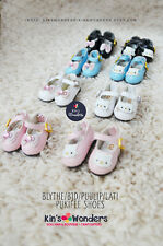 Blythe Shoes, Pullip, BJD, Licca, Pure Neemo, Jerryberry, Momoko Soft Bow Cat