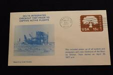 SPACE COVER 1977 MACHINE CANCEL SHUTTLE DELTA INTEGRATED CHECKOUT TEST (3804)